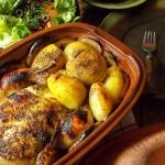 Kurczak i ziemniaki w...