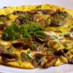 Omlet z kaniami