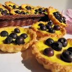 Tartaletki z borowkami