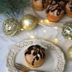 Muffinki makowe z kremem...