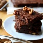 Czekoladowe brownie z...