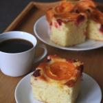 Morelowo-malinowe ciasto...