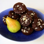 Czekoladowe muffinki z gr...