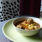 Meksykanska zupa z klopsi...
