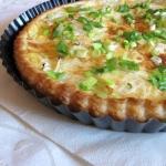 Tarta lososiowo-serowa
