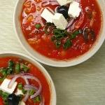 Zupa pomidorowa na zimno...
