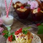 Porzeczkowe muffinki z...