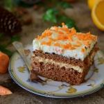 Ciasto mega marchewkowe...