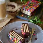 Blok czekoladowy z lentil...