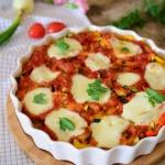 Gnocchi pod warzywami...