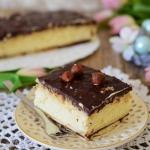 Ciasto  Mleczno-orzechowa...