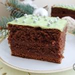 Ciasto piernikowe z dzeme...