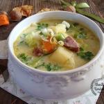 Zupa ziemniaczano-porowa...