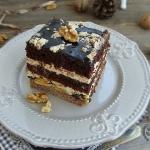 Ciasto bakaliowo-czekolad...