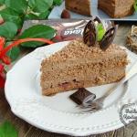 Czekoladowy tort Goplana