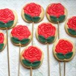 Ciasteczkowe różyczki...