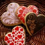 Ciasteczkowe serca dla...