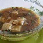 Zupa z grzybów leśnych...