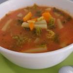 Zupa z kapusty włoskiej...