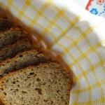 Szybki chleb razowy ze...