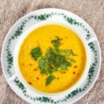 Kremowa zupa z marchewki...