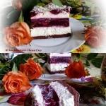 Pyszne ciasto wiśniowo...