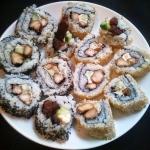 Owrócone sushi czyli...