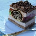 Ciasto Pawi ogon kakaowe.