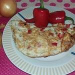 Omlet z papryczką chilli