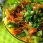Salatka z salaty mix z ru...