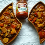 Drobiowe leczo - pomidoro...