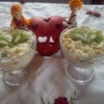 Makaron z owocami -...