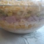 Salatka warstwowa