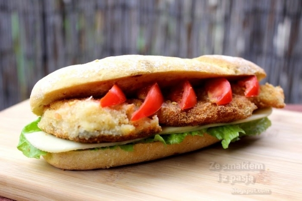 Domowy fishburger