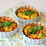 Mini tarty z warzywami