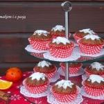 Zimowe muffinki korzenne